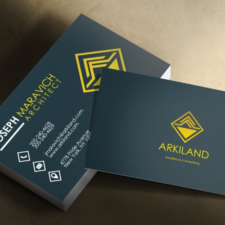 Silk Business Card Printing - Custom Business Cards UPrinting